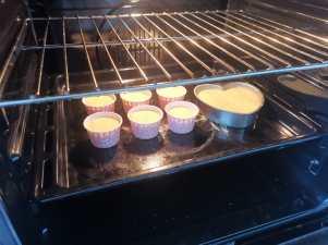 Baking in Progress