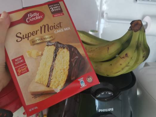 Banana Muffin Ingredient 001