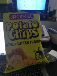 Honey Butter Potato Chips