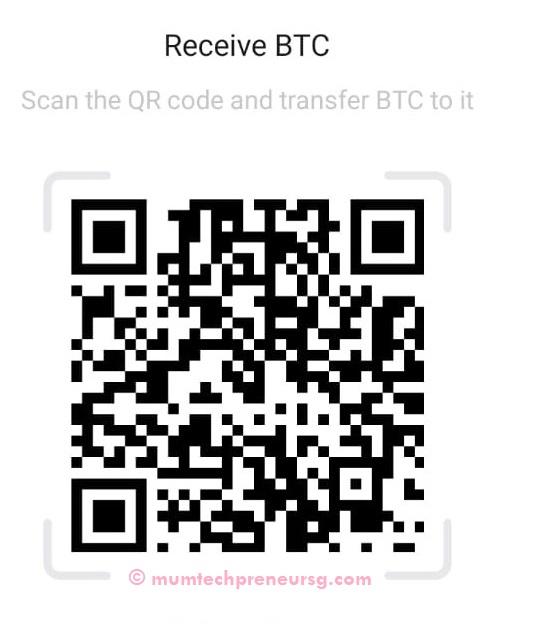 Send Bitcoin to Mumtechpreneursg.com